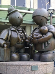 The Immigrant Family by Tom Otterness, Toronto